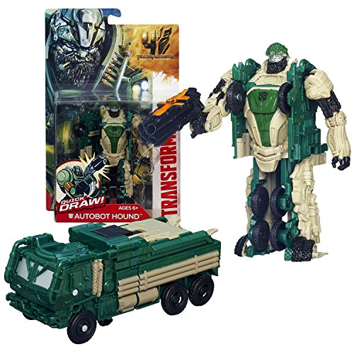 """Hasbro Year 2013 Transformers Movie Series 4 """"Age of Extinction"""" Power Attacker 5-1/2 Inch Tall Robot Action Figure -"""