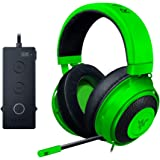 Razer Kraken Tournament Edition Green 立体音響対応ゲーミングヘッドセット RZ04-02051100【並行輸入品】