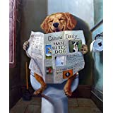 Dog Gone Funny Lucia Heffernan Animal Humor Newspaper Novelty Poster (Choose Size, Print or Canvas)