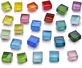 磁石 强力 透明感マグネット 可愛い冷蔵庫磁石 冷蔵庫&事務用に最適 24個セット