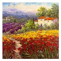 Fleur du Pays II by Hulsey風景ヨーロッパ花印刷ポスター26x 26