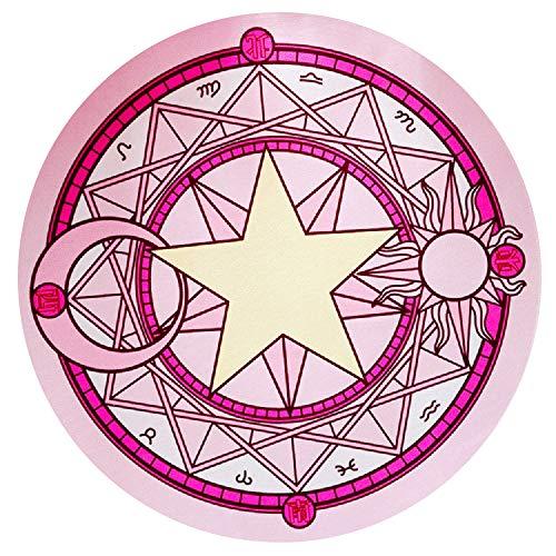 RoomClip商品情報 - Chu (チュッ) 魔法陣 カーペット チェアマット 直径60cm ピンク