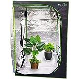 EC Grow グロウテント グロウボックス 室内栽培 水耕栽培キット 水耕栽培 温室ハウス 120×120×200cm 大容量