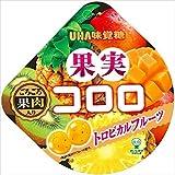 味覚糖 果実コロロ トロピカルフルーツ 54g×6袋