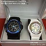 CASIO G-SHOCK Baby-G 専用BOX ペアウォッチ 正規品 AW-591 bga-101
