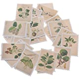 EORTA Post Stamp Stickers Vintage Postage Stamps Assortment Adhesive Paper Sticker Decor Envelope/Bag Seal for Diary Planner