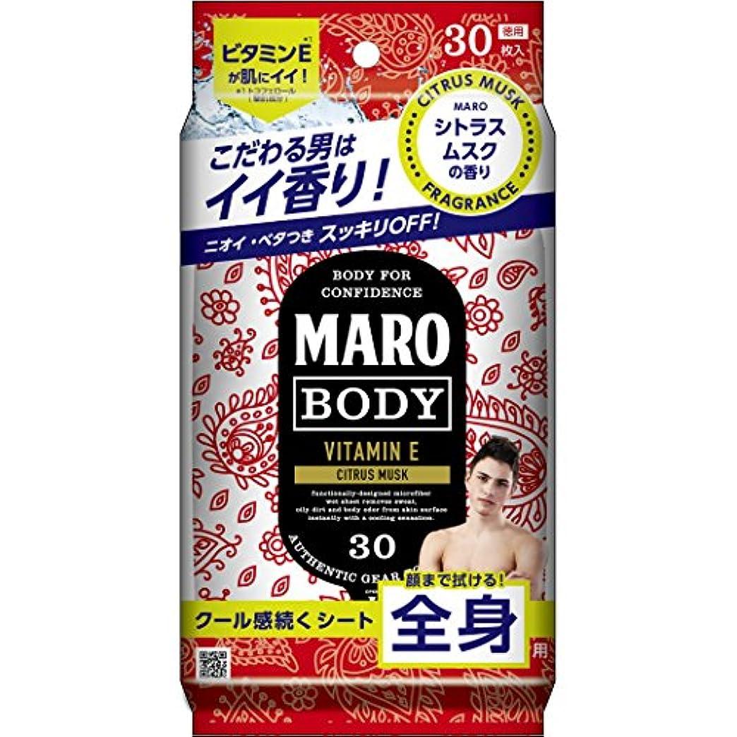 権利を与える褐色期待するMARO デザイン ボディシート ペイズリー 30枚