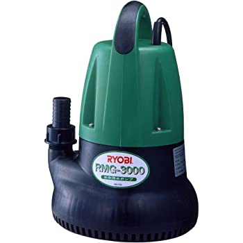 リョービ(RYOBI) 水中汚水ポンプ 60Hz RMG-3000 698301A