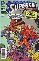 『フラッシュ』75周年記念乱入カバーアメコミリーフ『スーパーガール』#38