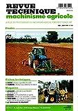 Revue technique machinisme agricole n°94, Deutz moteurs : 3 cyl f3l 912, 913, 914- f4l 912- f4l 913 fendt 240-250-275-280