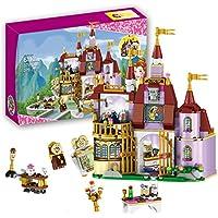 Funny Toyy美女と野獣プリンセスEnchanted Castle Building Blocks Girl Kids Toysと互換性ブロックレンガギフト