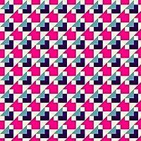 ポスター ウォールステッカー 正方形 シール式ステッカー 飾り 60×60cm Msize 壁 インテリア おしゃれ 剥がせる wall sticker poster 柄 模様 ピンク 012447