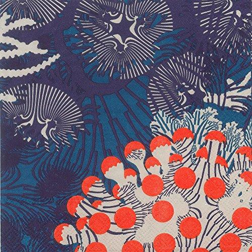 RoomClip商品情報 - デコパージュ紙 デコナップ ペーパーナプキン フラワー柄 同柄2枚セット 33×33cm MRL575640