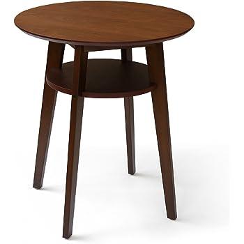 ウォールナット カフェテーブル 素敵なおうちカフェを演出するコンパクトなカフェテーブル ダイニングテーブル カフェテーブル 丸 カフェ テーブル 2012p5