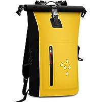 防水 リュック バッグ リュックサック 大容量 25L スマホ用 防水ケース付き バイク 登山 釣り アウトドア サイク…