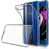 Simpeak Huawei Honor 9 対応 ケース Huawei Honor 9 適応 カバー TPU シリコン ケース 落下防止 防指紋 超薄型 軽量 クリア ソフト 透明ケース 保護カバー