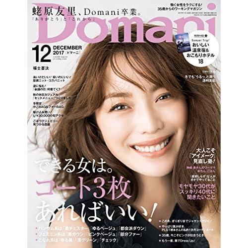 Domani(ドマーニ) 2017年 12 月号 [雑誌]