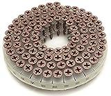 WAKAI ロール連結ビス ハイ&ロー よび径3.8X全長28mm 赤 100本X20巻入 RV28GWH