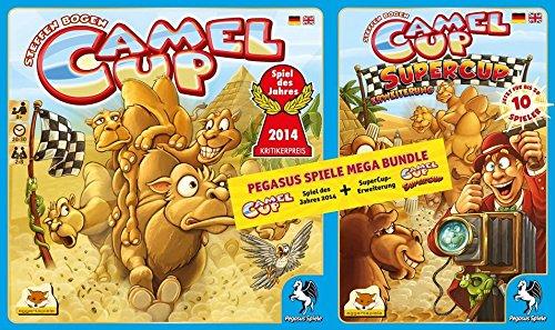 キャメルアップ Camel up & スーパーカップ SuperCup カードゲームセット [並行輸入品]