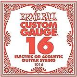 【国内正規輸入品】Ernie Ball アーニーボール #1016 バラ弦 16 6本セット