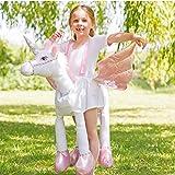 Amscan Ride On Unicorn子供用コスチューム標準