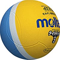 molten(モルテン) ドッジボール ライトドッジ 軽量2号球 レモン×サックス SLD2LSK