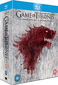 Game of Thrones: Season 1 & 2 [Blu-ray] [Import]