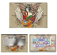 Decalrus - Protective Decal Tattoo Skin Sticker for HP ENVY 17M AE011DX (17.3 Screen) case cover wrap HPenvy17_ae011dx-114
