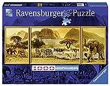 1000ピース ジグソーパズル Unterwegs in Afrika (98 x 37,5 cm)