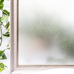 CottonColors 窓用フィルム 目隠しシート 何度も貼直せる ガラスフィルム 90x200cm 紫外線カット [スリガラス023]
