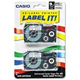 Casio Inc. XR9SR2S Tape Cassette for Label Printer