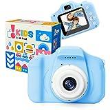 [Amazon限定ブランド] ピントキッズ トイカメラ キッズカメラ 安全ストラップ付 ブルー