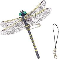 オニヤンマ トンボ 昆虫 安全ピン付き 蜻蛉 虫除け おにやんま 動物模型 家 おもちゃ蜂 蚊 アブ ブヨ スズメバチの…