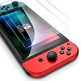 ESR Nintendo Switch フィルム [2枚入] ニンテンドースイッチ 液晶保護フィルム HDクリア 3倍強化 最大5KGの力に抵抗 傷つき防止 プレミアム強化ガラス スクリーンプロテクター