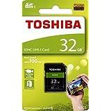 東芝 SDHCカード N203 32GB UHS-I クラス10 UHSスピードクラス1 読込100MB/s THN-N203N0320A4 [並行輸入品]