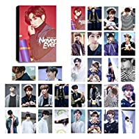 Kpop got7 LomoカードGot Seven Photocard Set of 30 for igot7ファンwith Greeting Cardはがきボックス