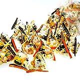 ハロウィン 国産 あられ 400g 約100個 小分け 小袋 テトラ ハロウィーン 菓子 配る