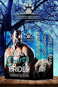 Clan Conroy Brides : 3 Clan Bear Shifter Romances by [Alisyn, Emma]