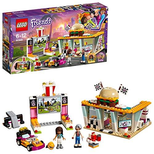 """レゴ(LEGO)フレンズ ハートレイクグランプリ """"ハンバーガーショップ"""