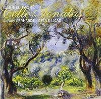 Faure: Cello Sonatas by Alban Gerhardt (2012-01-10)