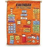 Bubbadoo C0111 Giant Felt Kids Learning Calendar