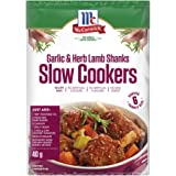 McCormick Slow Cookers Garlic and Herb Lamb Shank Recipe Base 40 g,  40 g