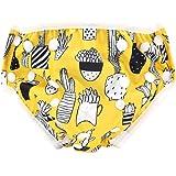 水着 ベビー 水泳パンツ キッズ 0-2歳 水遊びパンツ 幼児用スイムパンツ 男の子 スイムウェア赤ちゃん オムツ 調整可能 防水外層 スイミングパンツ 子供