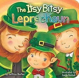 The Itsy Bitsy Leprechaun by [Burton, Jeffrey]