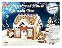 お菓子の家キット ジンジャーブレッドハウス Gingerbread House Kit with Tree 1.3kg