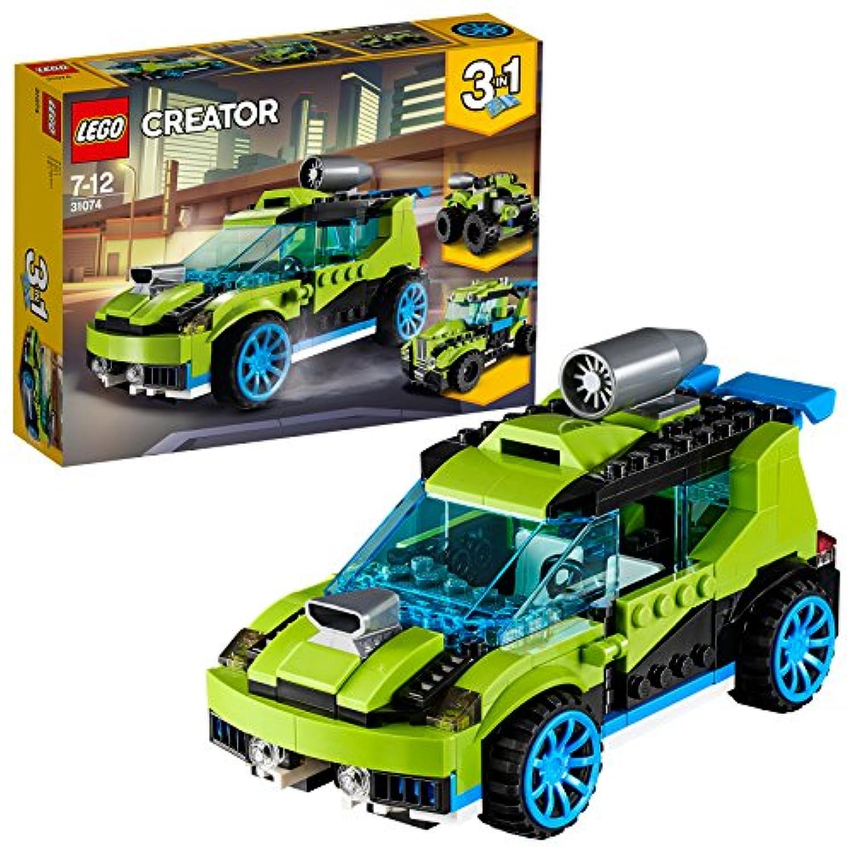 レゴ(LEGO) クリエイター ロケットラリーカー 31074