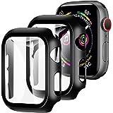 【2枚セット】YOFITAR Apple Watch 用ケース 42mm アップルウォッチ保護ケース ガラスフィルム 一…