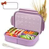 Bento Box for Kids Lunch Box Lunch Container for Adults, Leak Proof Bento Lunch Container, BPA Free Kids Bento Box, Portion C