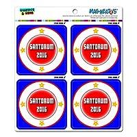 Santorum 2016 大統領選挙 MAG-NEATO'S(TM) ビニールマグネット Set