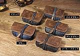 DSC-RX100M5/DSC-RX100M4 ケース レザー ポーチ カバン型 軽量/薄 DSC-RX100M5/DSC-RX100M4 対応ケース デジタルカメラバッグRX100M5-Q36-T61224 (ライトブルー)